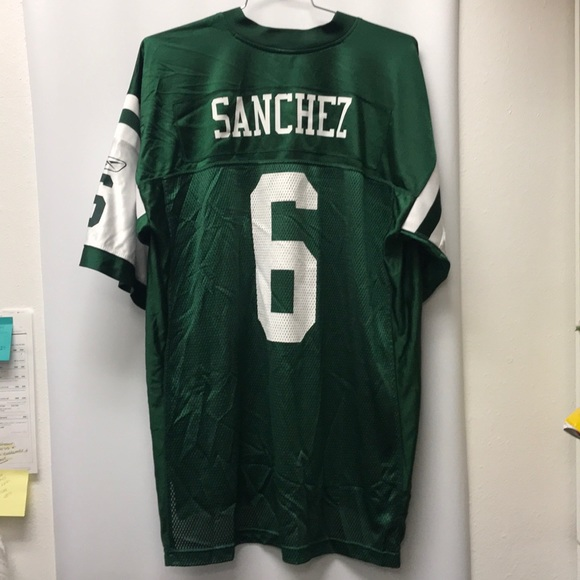 buy online 7938d 3584e NFL Reebok Jets Sanchez #6 vintage jersey size XL